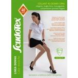 Kompressioonsukapüksid tugevdatud püksiosaga 7-9 mmHg, 40 DEN