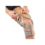 4314 Deroyal küljetoestustega põlveortoos Hypercontrol Knee Brace - Wrap Around