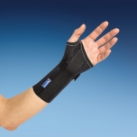 2262 Mediroyal randmeortoos Origo, pollus short wrist support black
